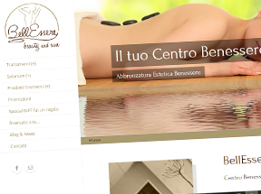 sito web BellEssere Beauty and Sun - Bari