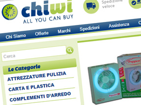 sito e-commerce Chiwi.it